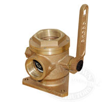 Groco Full-Flow Flanged Safety Seacocks