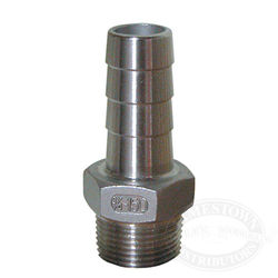 Groco Pipe-to-Hose 90 Degree - Standard Flow - 316 SS, NPT