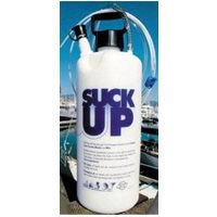 Suck-Up hand primed fluid pump oil changer or fluid extractor