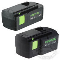 Festool Battery Packs