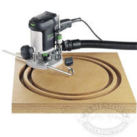 Festool Router - Trammel Unit for OF 1010EQ