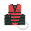 4 Belt Dual-Sized Nylon Family Vest - Red
