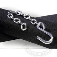 Tie Down boat trailer bow safety chain