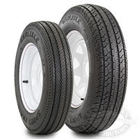 Carlisle Mounted Sport Trail Trailer Tires and Wheels