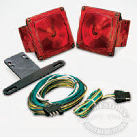 Wesbar - Standard - Under 80 - Tail Lamp and Wire Kit
