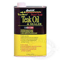 Boatlife Teak Brite Hi-Tech Teak Oil Sealer