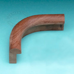 Teak Outside Corner Edge Molding