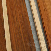 Teak And Holly Tongue And Groove Flooring