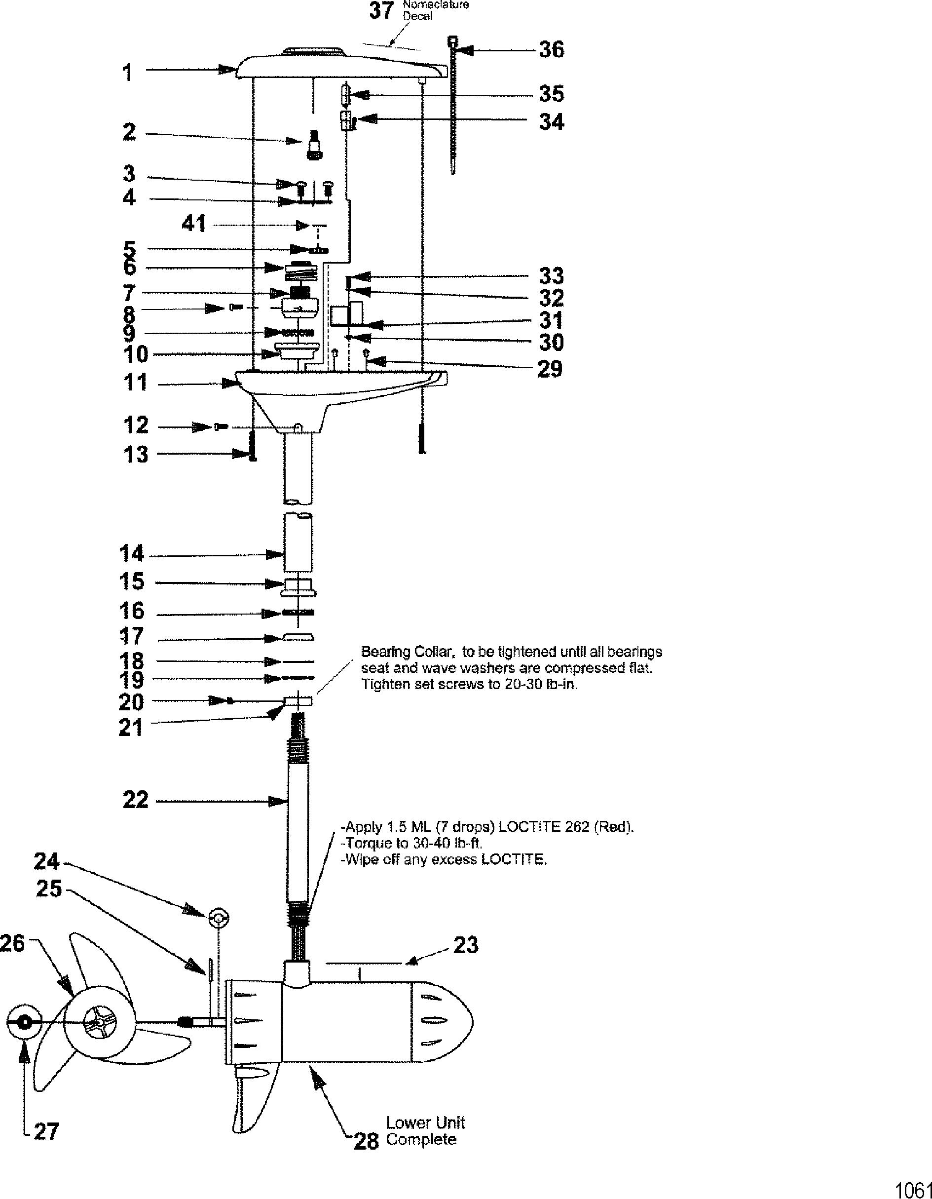 Motorguide 24 36 Volt Diagrams Wiring Diagram 4 Battery Complete Trolling Motor Model Te109vp For Rh Jamestowndistributors Com Thermostat