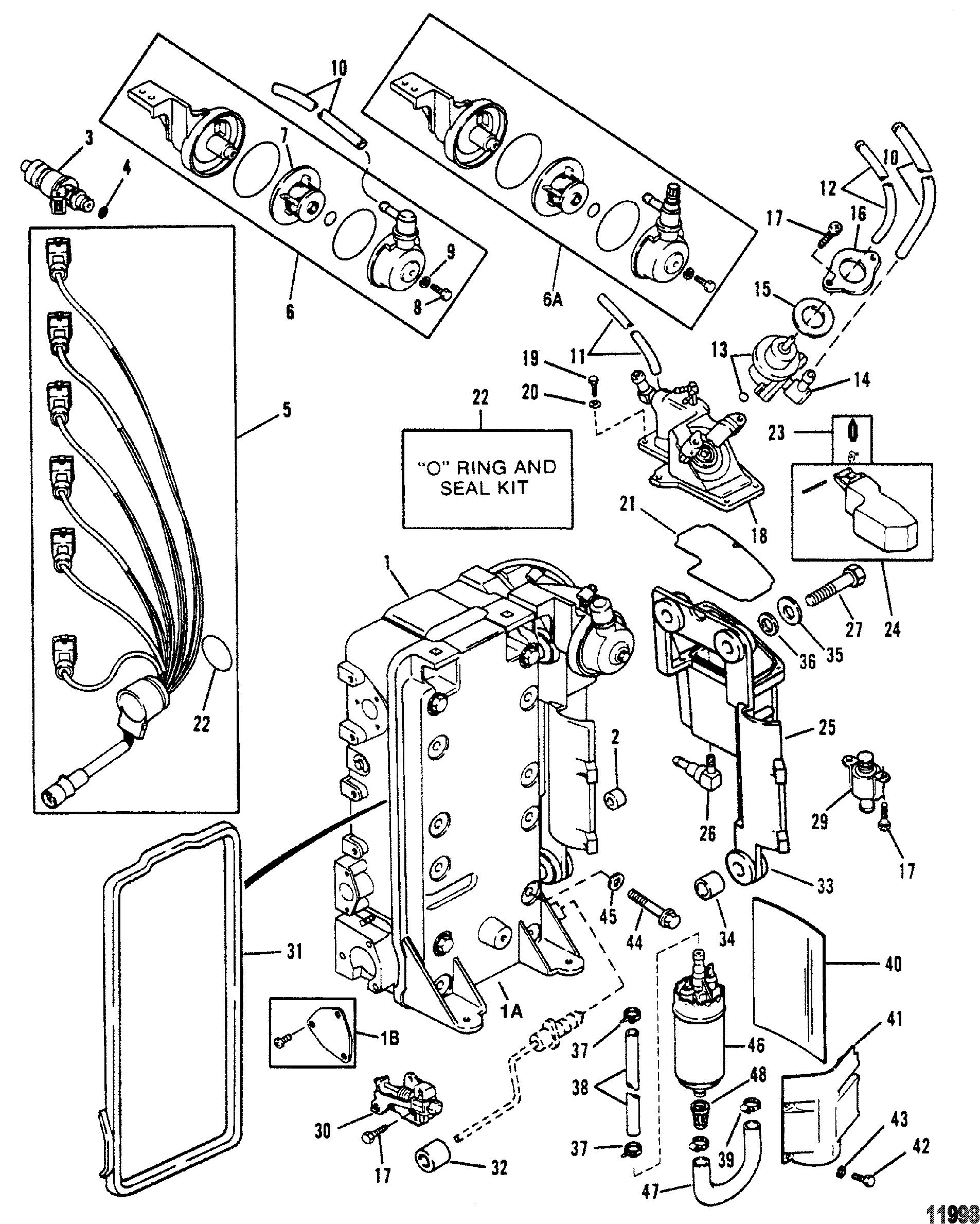 Mercury 150 V6 Wiring Diagrams Worksheet And Diagram 60 Hp 1994 Mariner Harness Detailed Schematics Rh Jvpacks Com Outboard