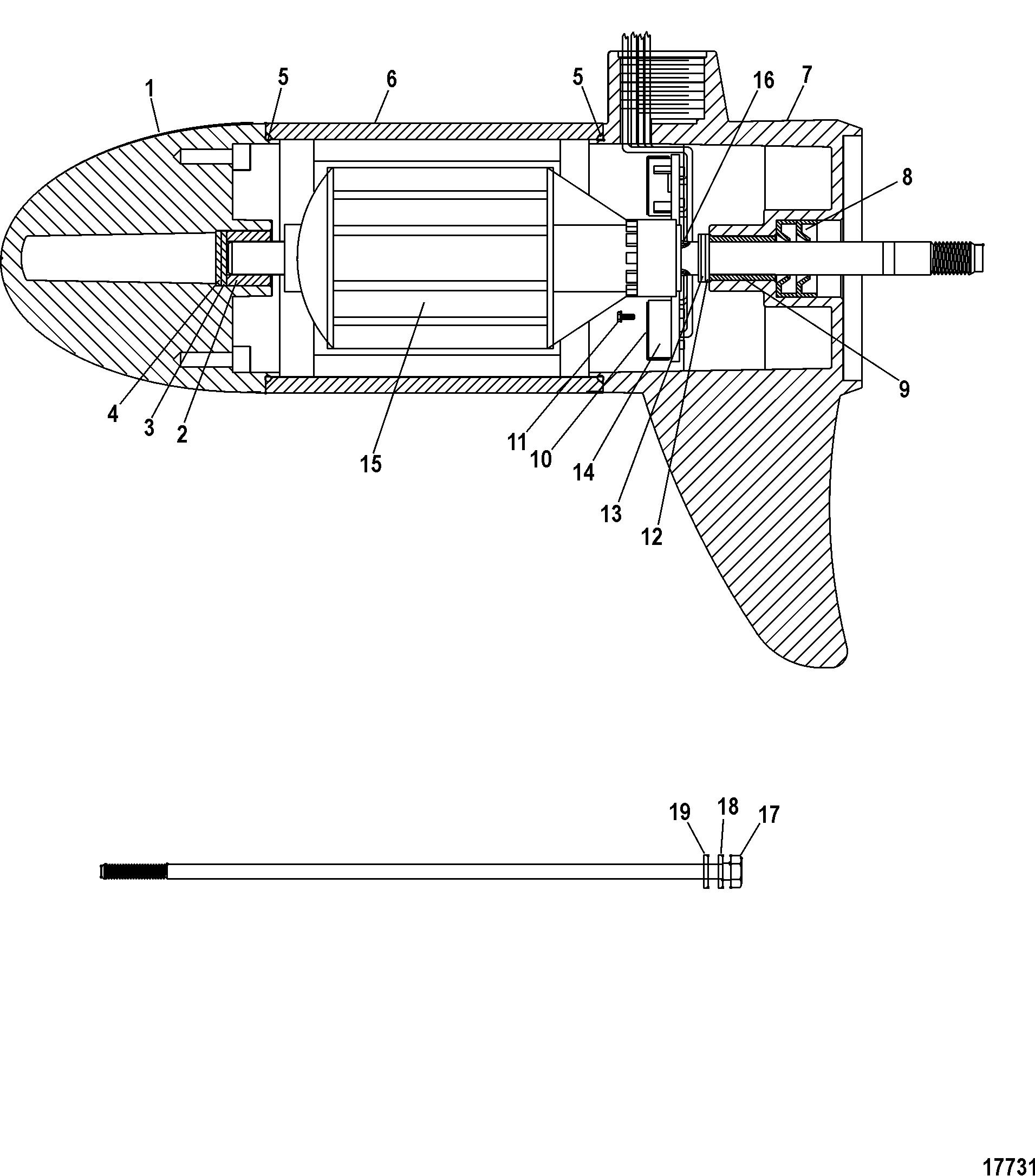 motorguide thruster series