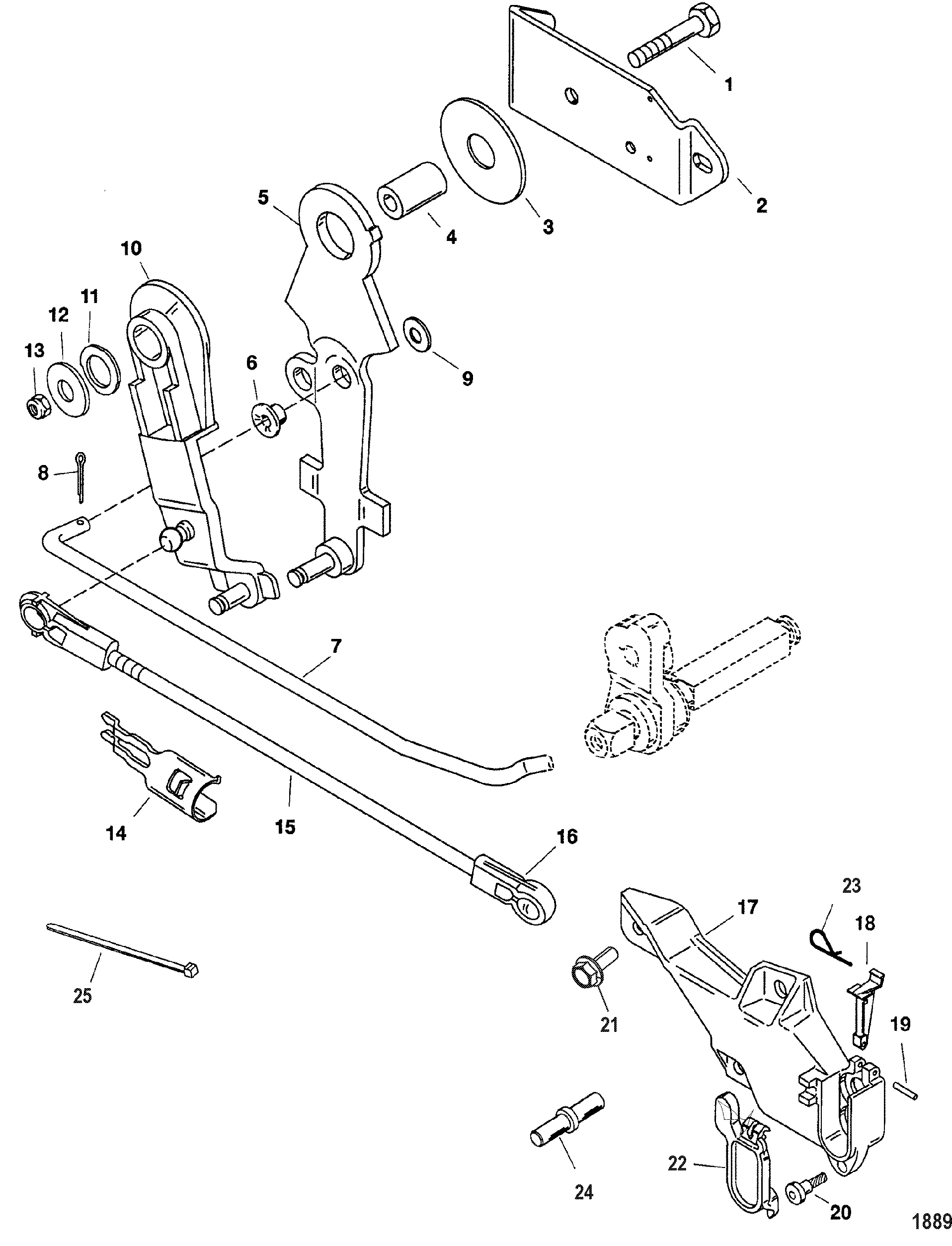 old mercury outboard motors parts