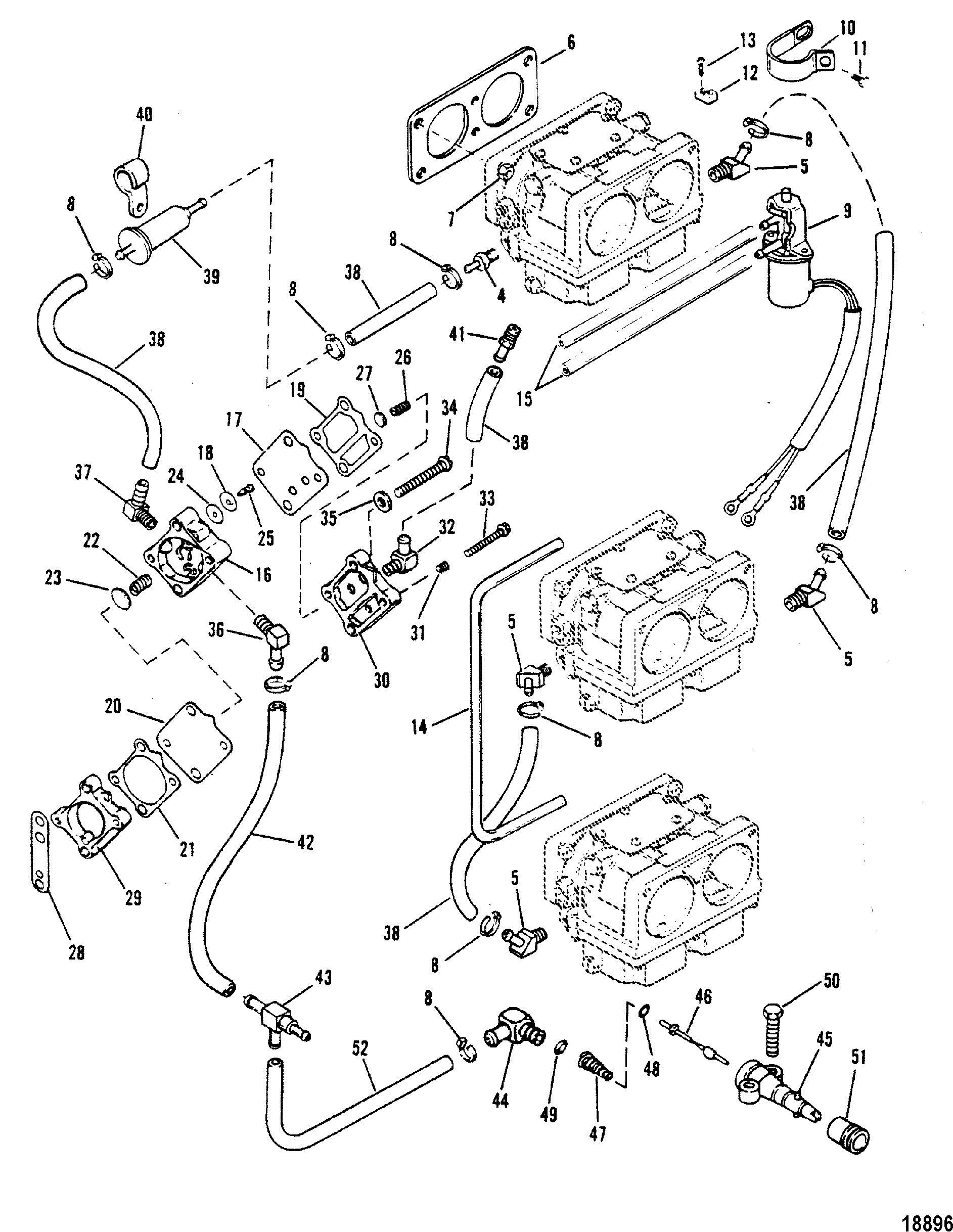 150 Hp Mercury Outboard Oil Line Diagram Wiring Diagrams 1988 Xr2 Fuel Pump Square For Mariner Sea Ray 135150