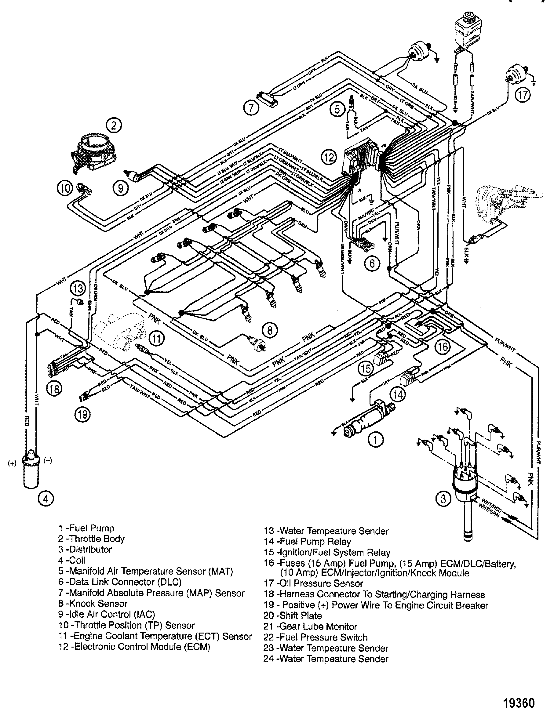1989 mercury sable wiring diagram mercruiser 350 mag mpi engine diagram. engine. auto parts ... #8
