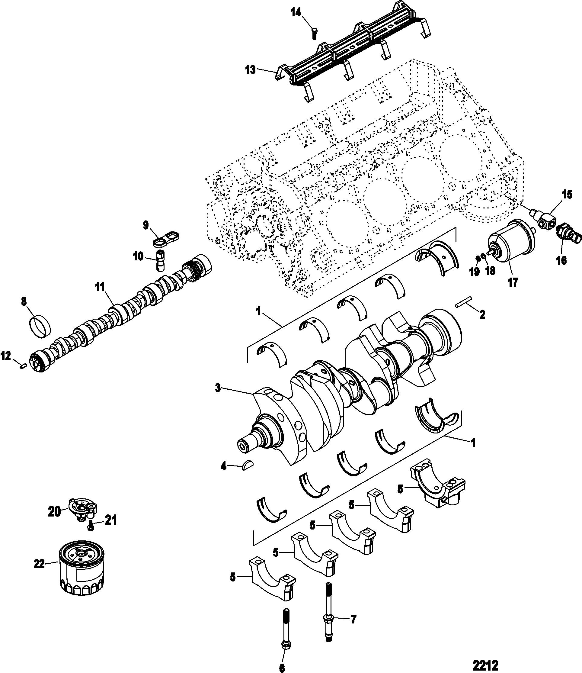 350 crate engine diagram cylinder block  camshaft and crankshaft for 350 4 bbl gen crate  crankshaft for 350 4 bbl gen crate