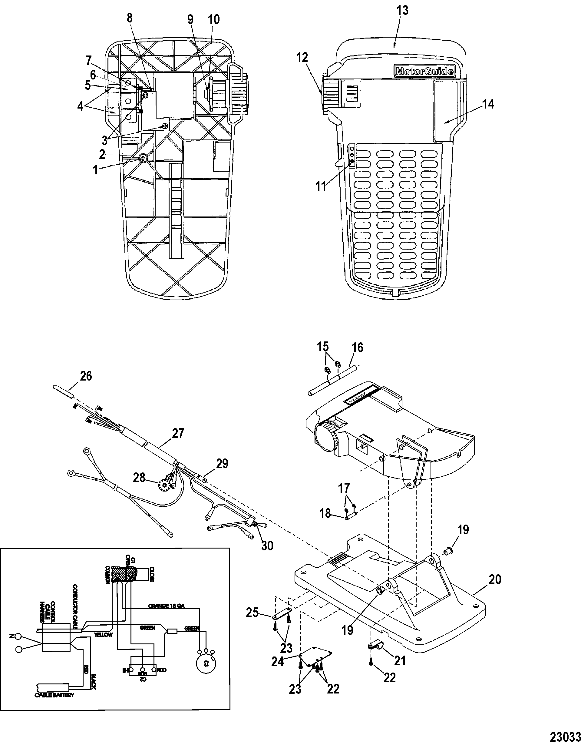 2000 mercury outboard motor diagram