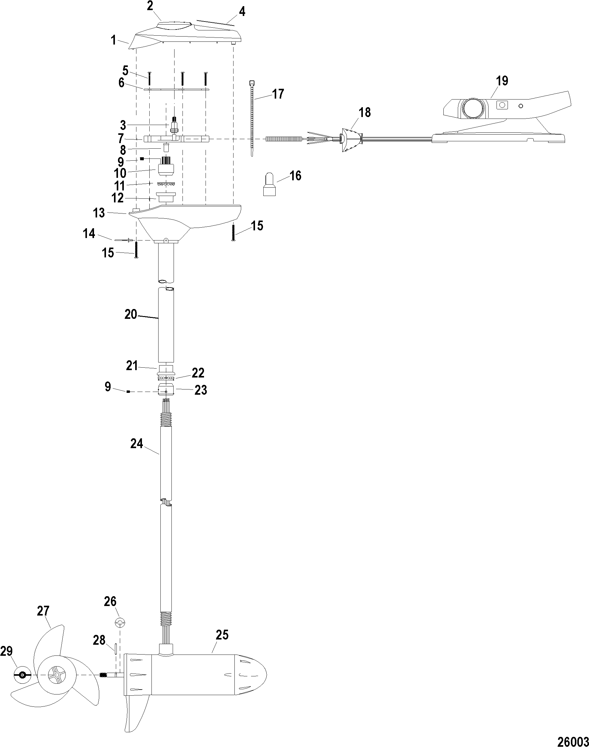 Brute Trolling Motor Wiring Diagram | Wiring Diagram on