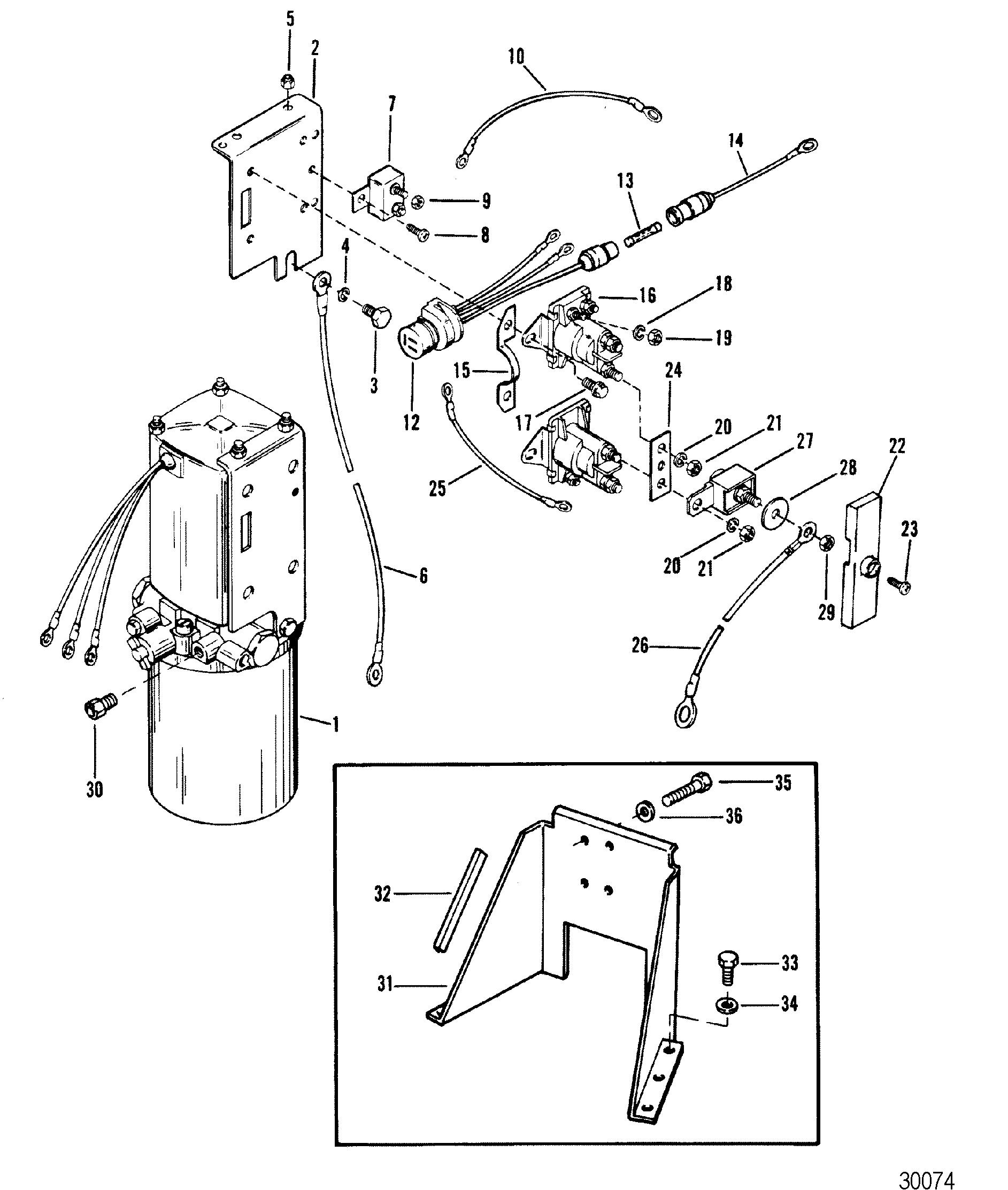 hydraulic pump and bracket oildyne pump  metal reservoir