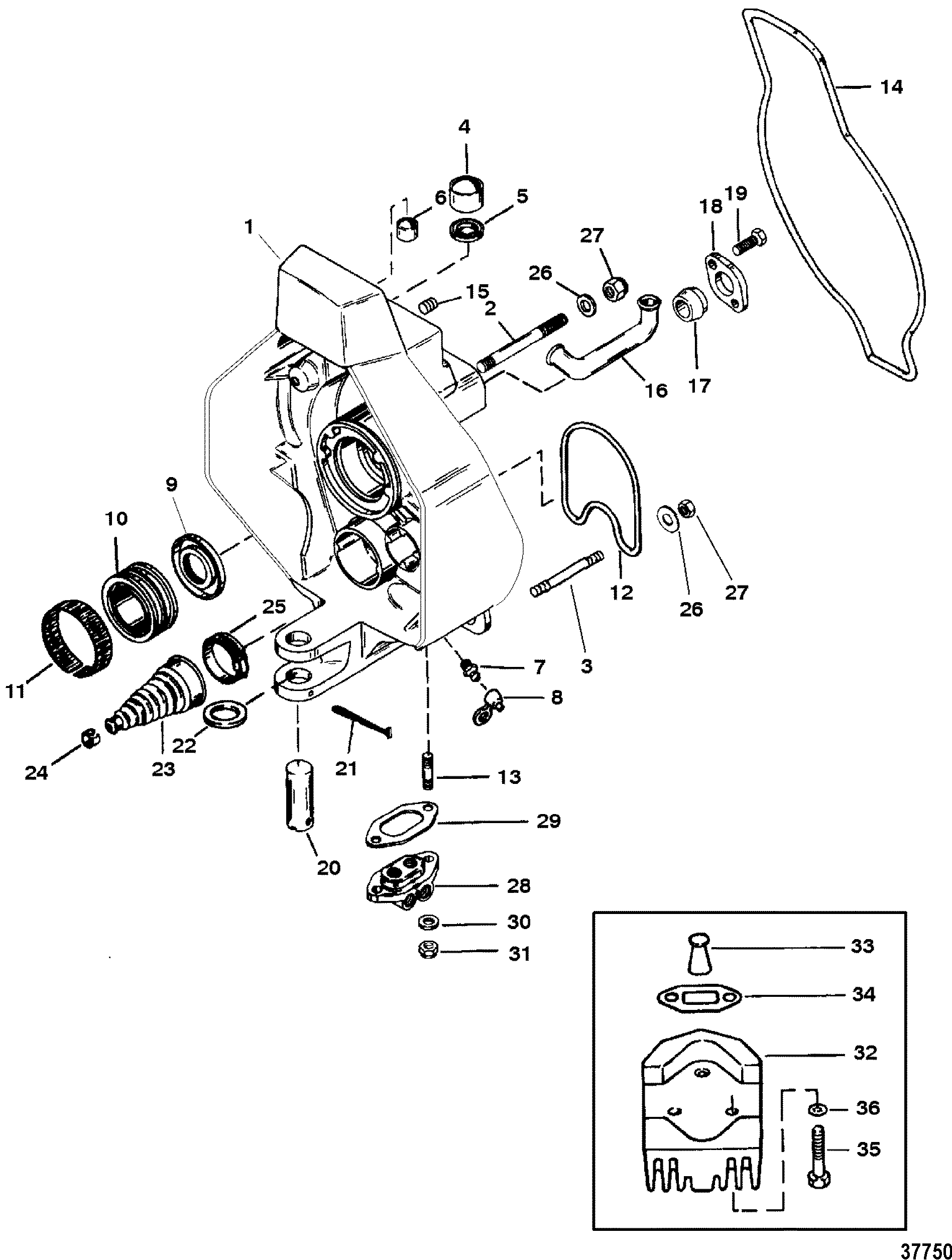 Thermostat Housing And Hoses further 140 Mercruiser Outdrive Diagram besides Blue Giant Pallet Jack Parts together with Single Point Manual Drain System Mercruiser 4 3l Marine Engine Alpha Sterndrive likewise 80. on mercruiser alpha drive