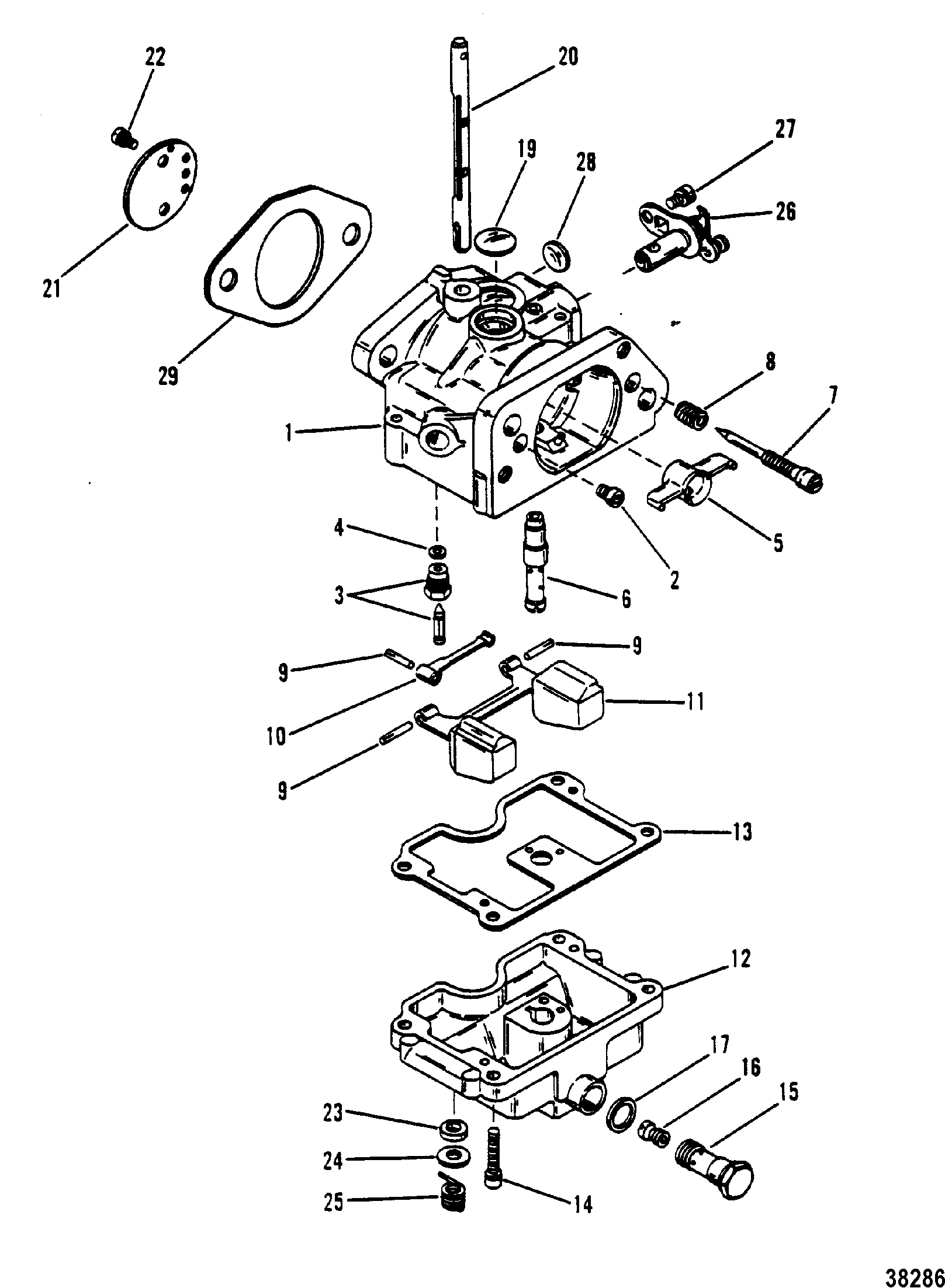 Show_product on Mercury Outboard Parts Diagram