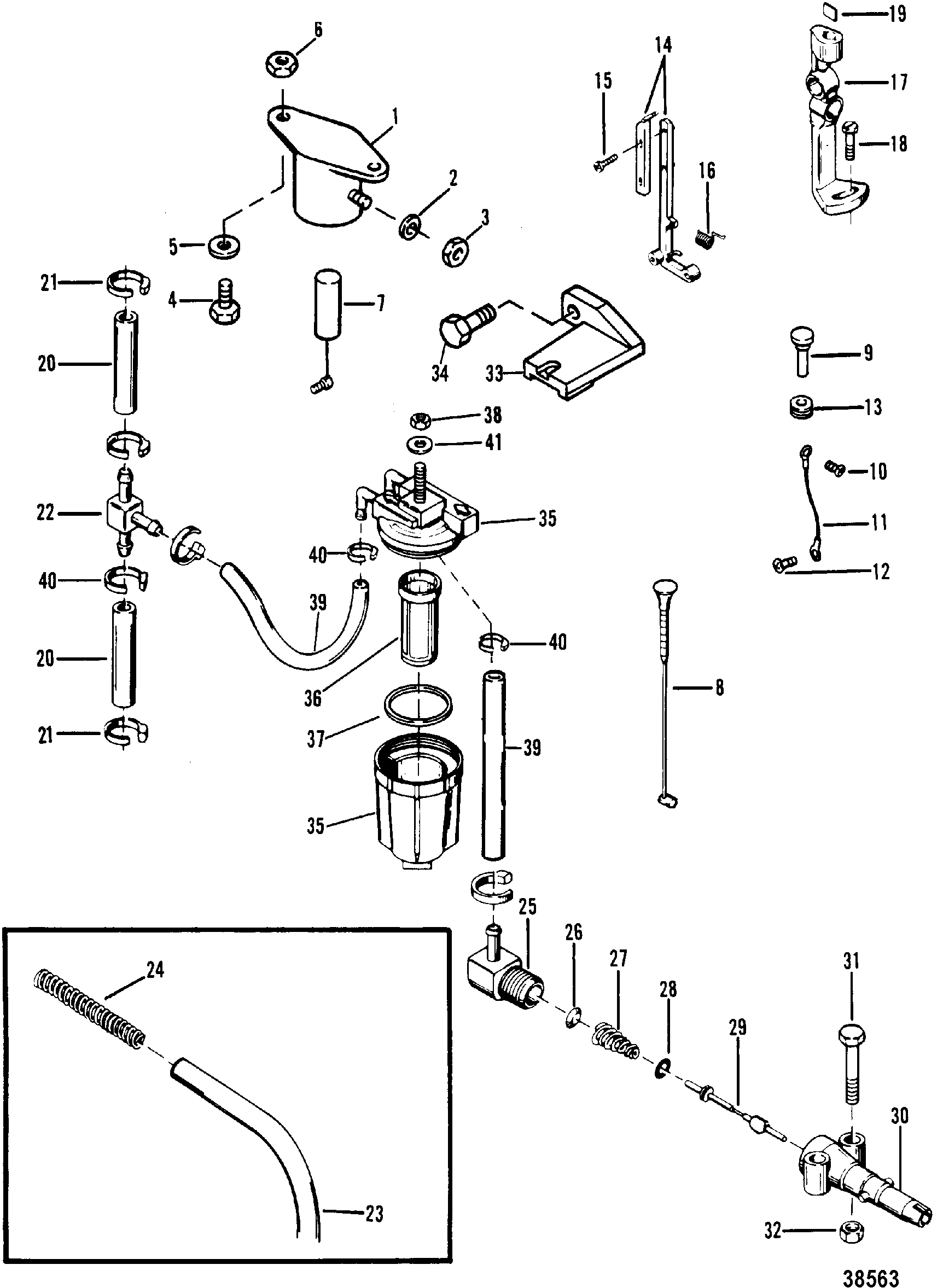 mercury parts diagram