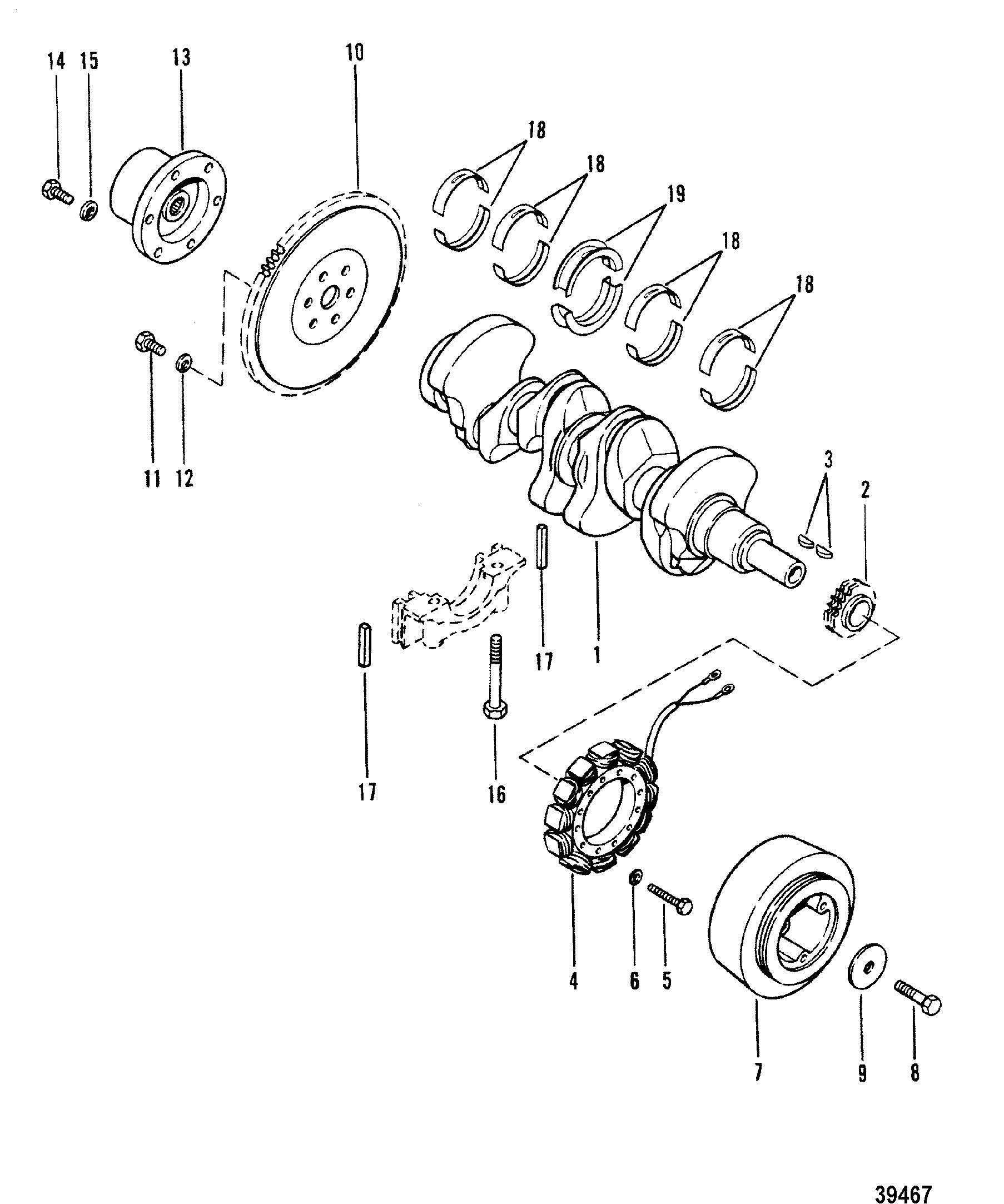 165 hp mercruiser engine diagram wiring diagrams hubs Inside a Distributor crankshaft flywheel and alternator for mercruiser 165 hp 3 7l 170 mercruiser solenoid wiring diagram 165 hp mercruiser engine diagram