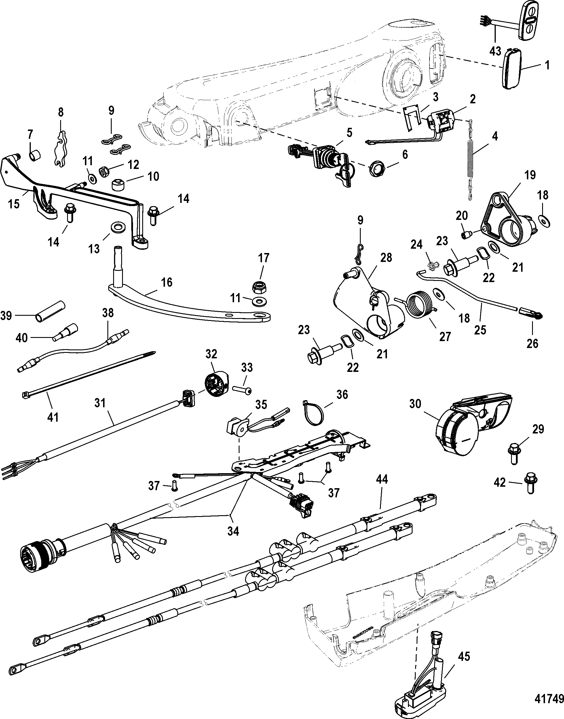 W25cfk Handle Parts Manual Guide