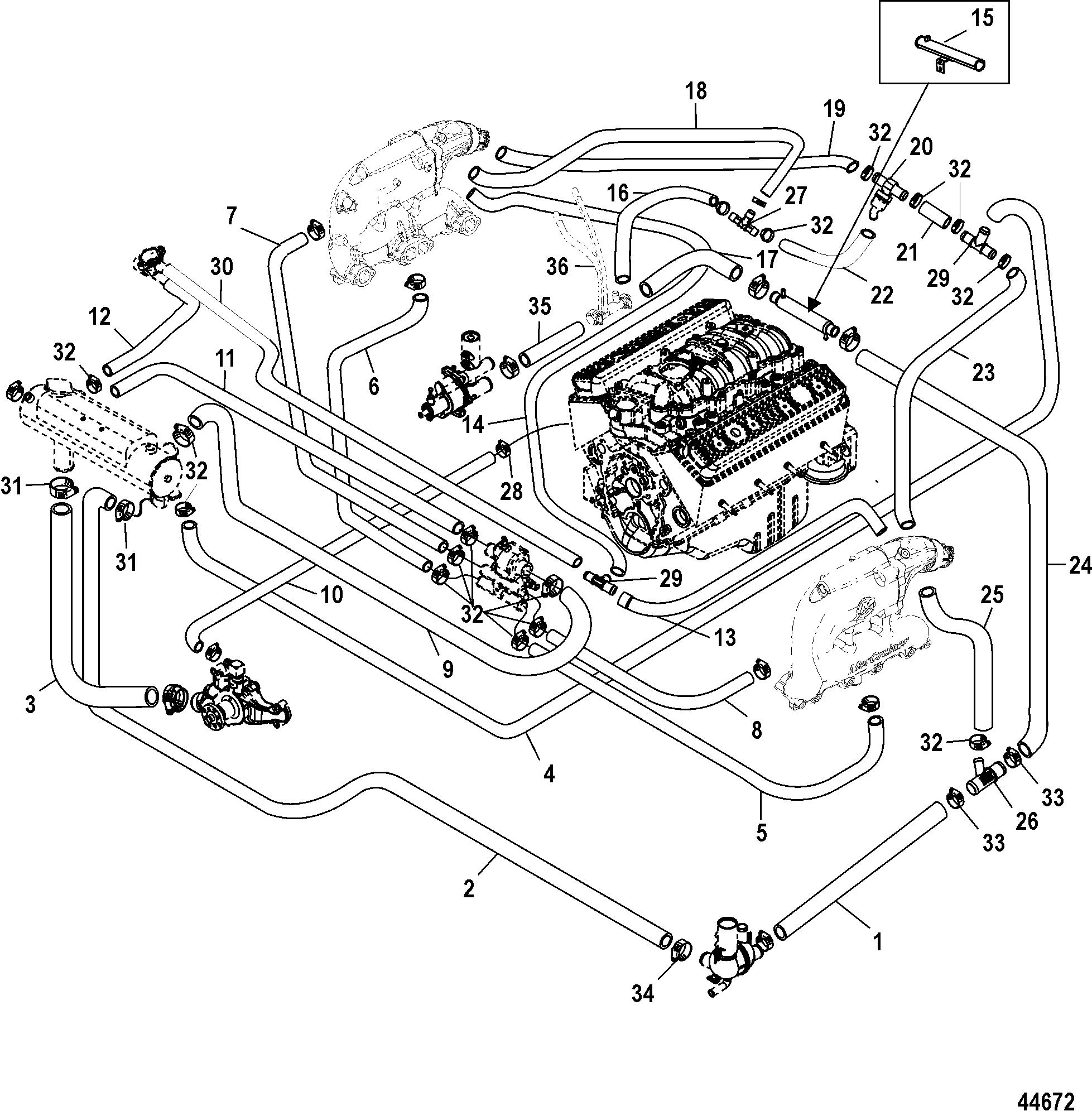 mercruiser 350 mag mpi engine diagram online wiring diagram rh 7 kaspars co 350 V8 Engine Diagram Mercruiser Alpha One Diagram