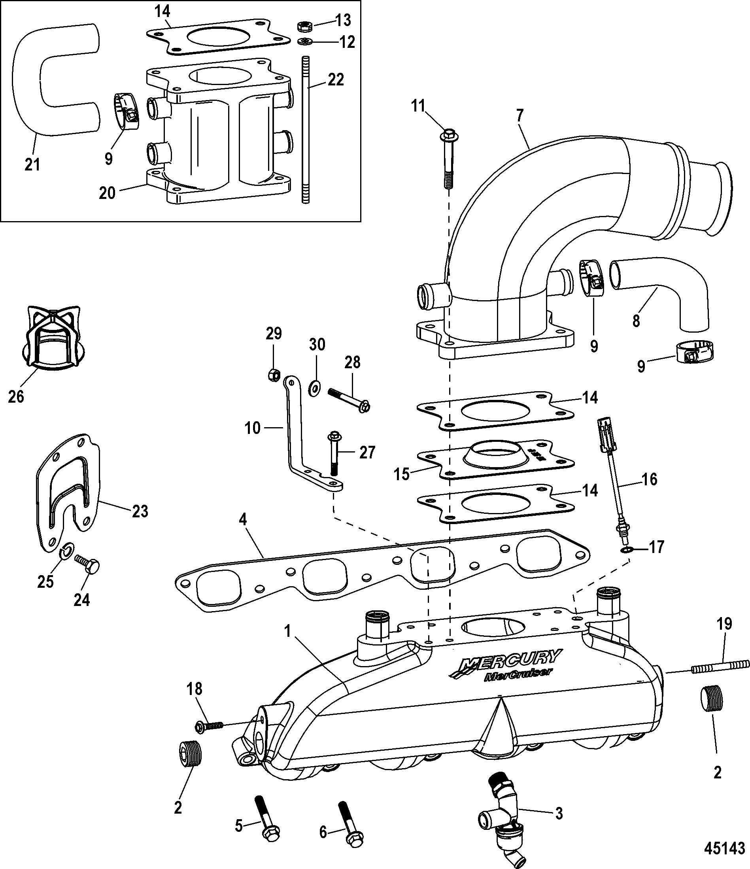 alpha 1 mercruiser water flow diagram