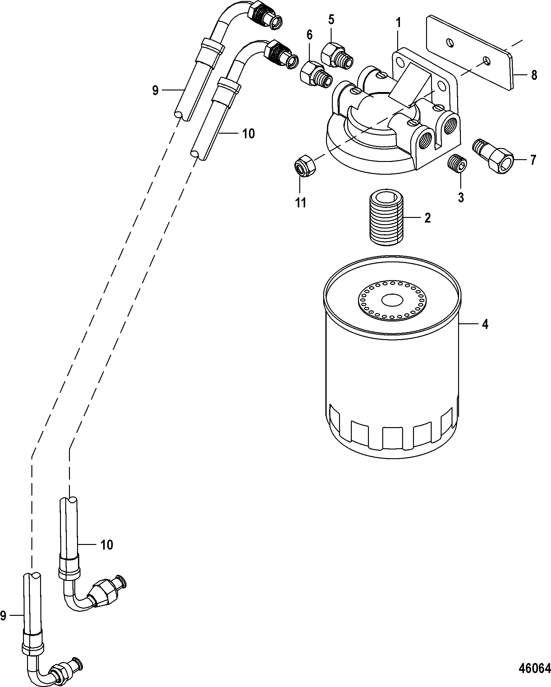 10427161 Gimbal Housing Install in addition 4 Hp Evinrude Outboard Diagram furthermore Universal Joint Shifter  ponents likewise Pre Alpha Mercruiser Wiring Diagram besides Mercruiser 4 3l Engine Diagram. on mercruiser alpha one manual