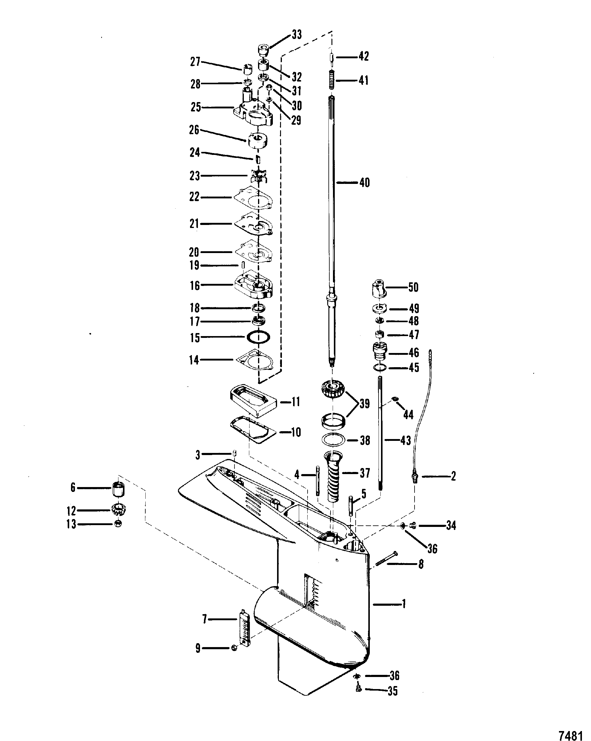 135 hp mercury outboard wiring diagram