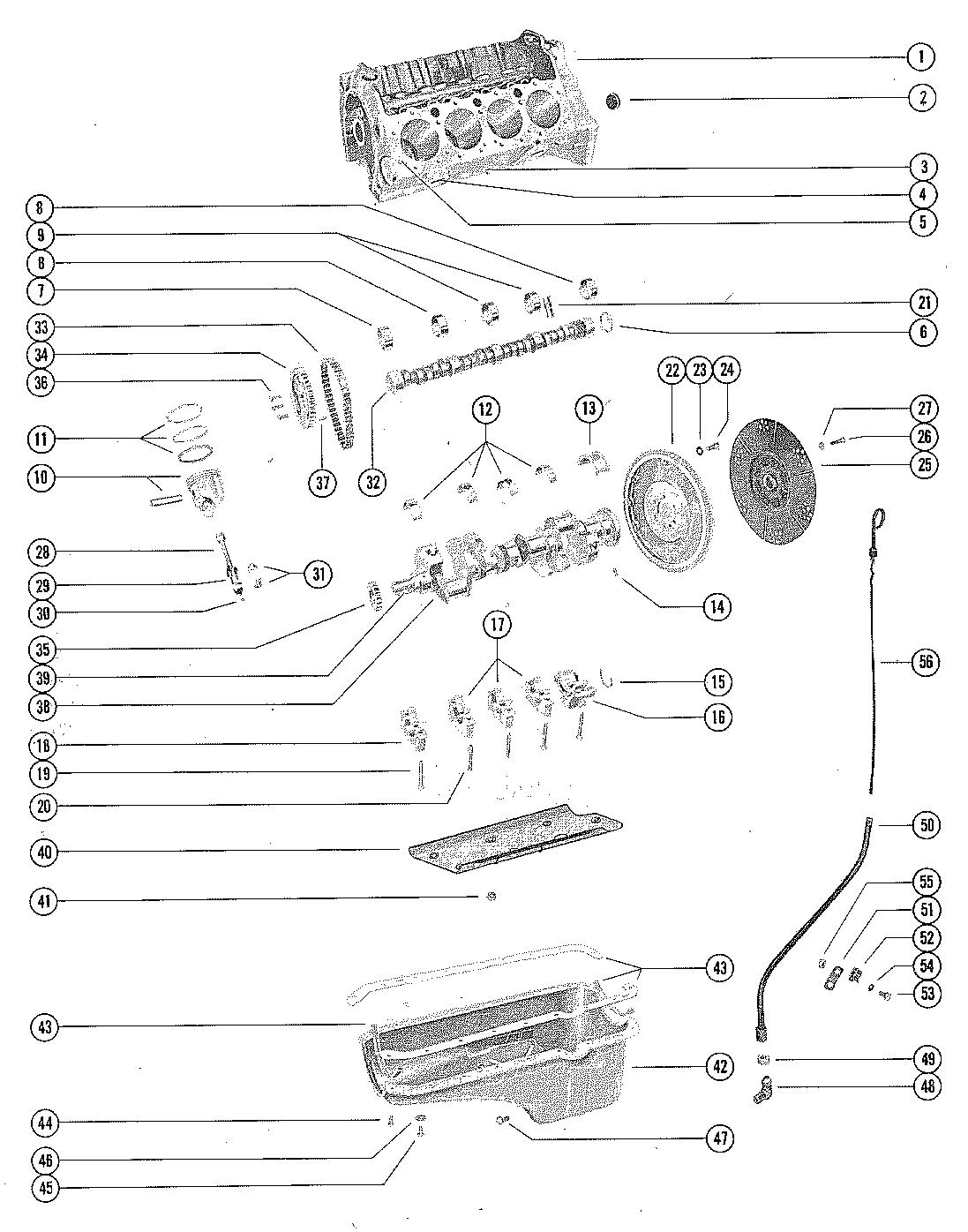 Cylinder Block Pistons And Crankshaft For 270 Engine Diagram Schedule