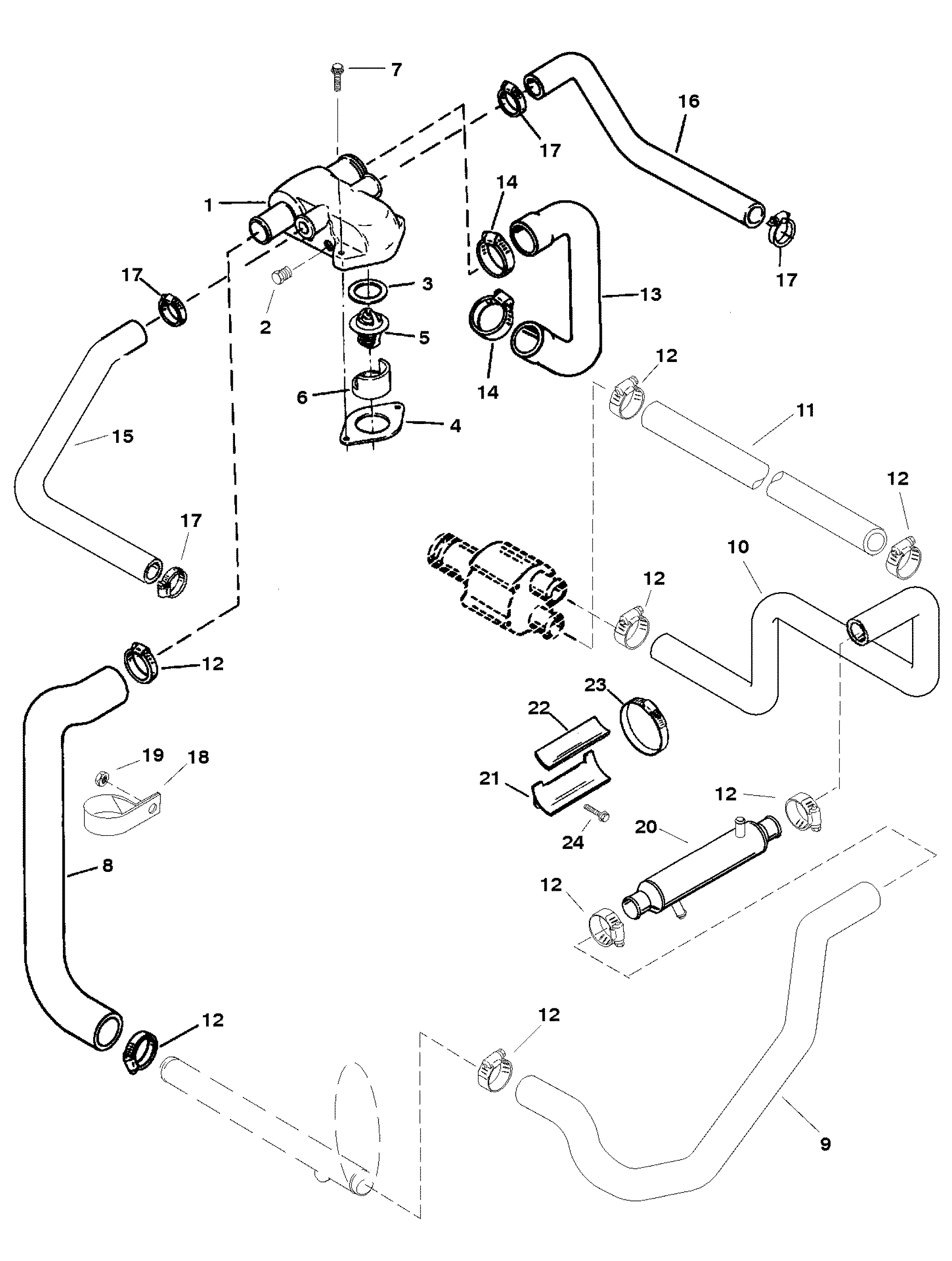2014 ford focus fuel system diagram mercruiser fuel system diagram standard cooling system for mercruiser 350 mag mpi bravo