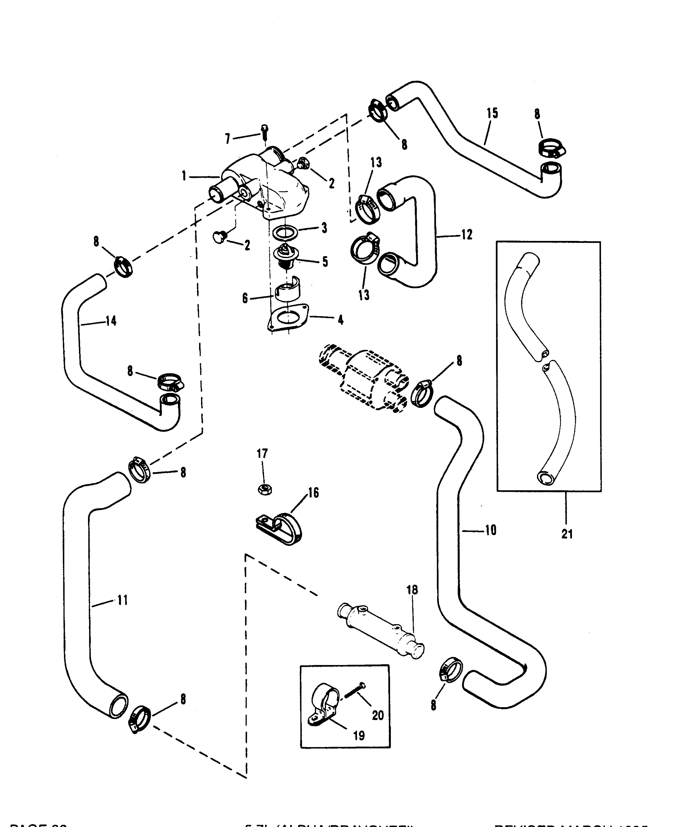 350 mercruiser engine diagram 1997 5 7 vortec engine