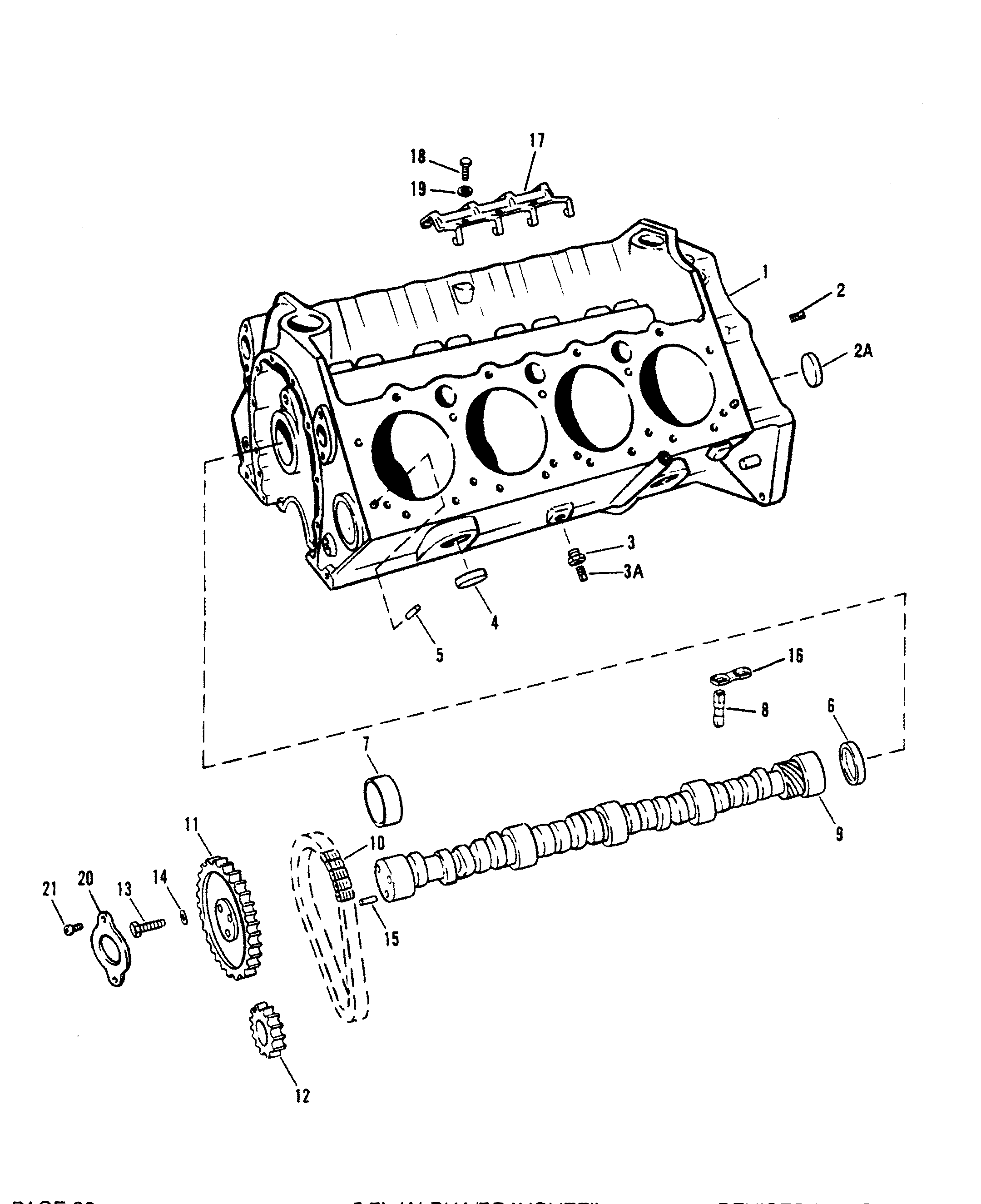 mercruiser engine block diagrams