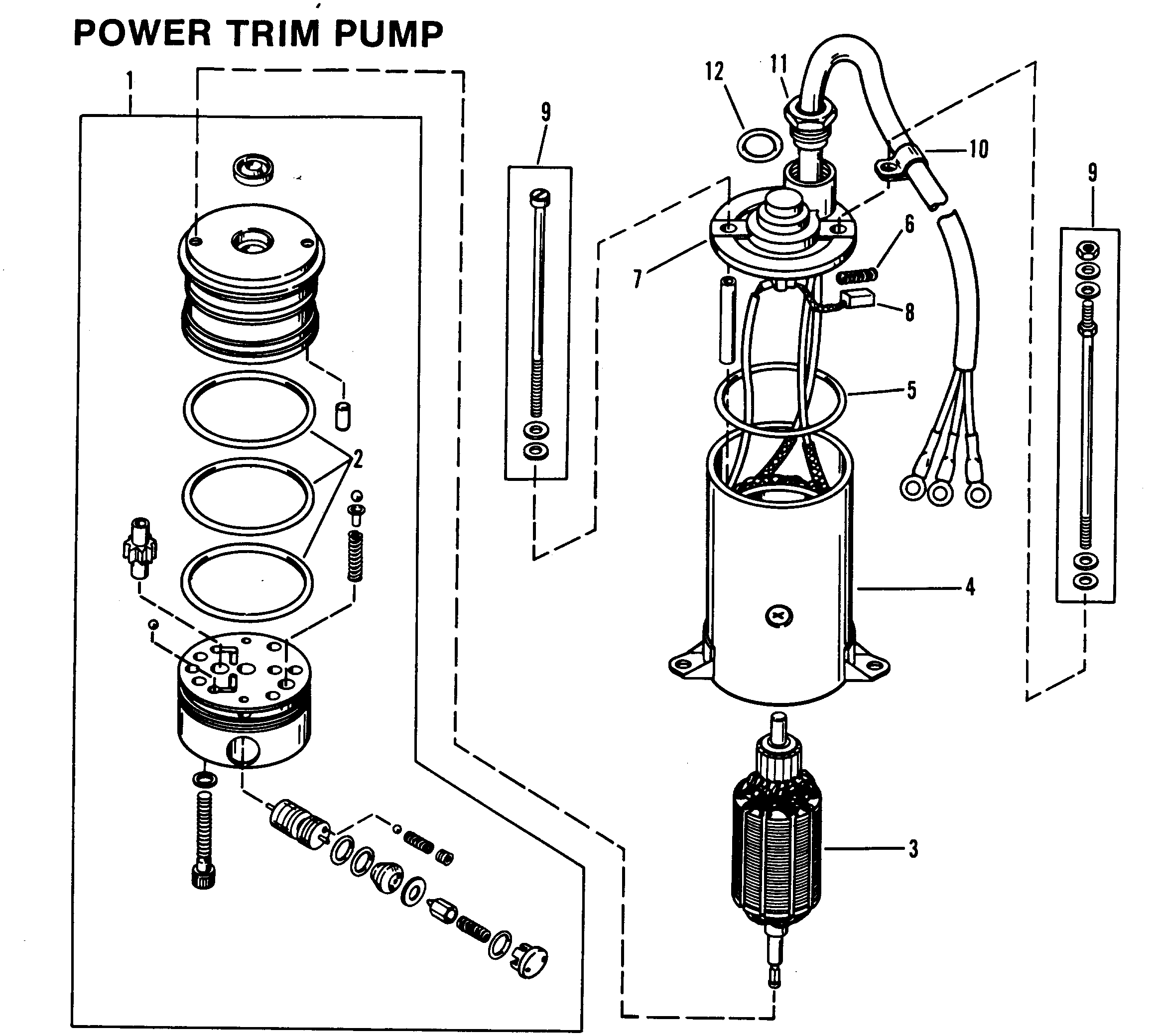 Power Trim  ponents additionally 380976449707264543 further Hydraulic Trim Pump Kit furthermore 53kfn Need Wiring Diagram 2004 4 3l Fuel Pump Power Circuit furthermore 7 5 Hp Mercury Outboard Parts Schematic. on mercruiser power trim wiring diagram
