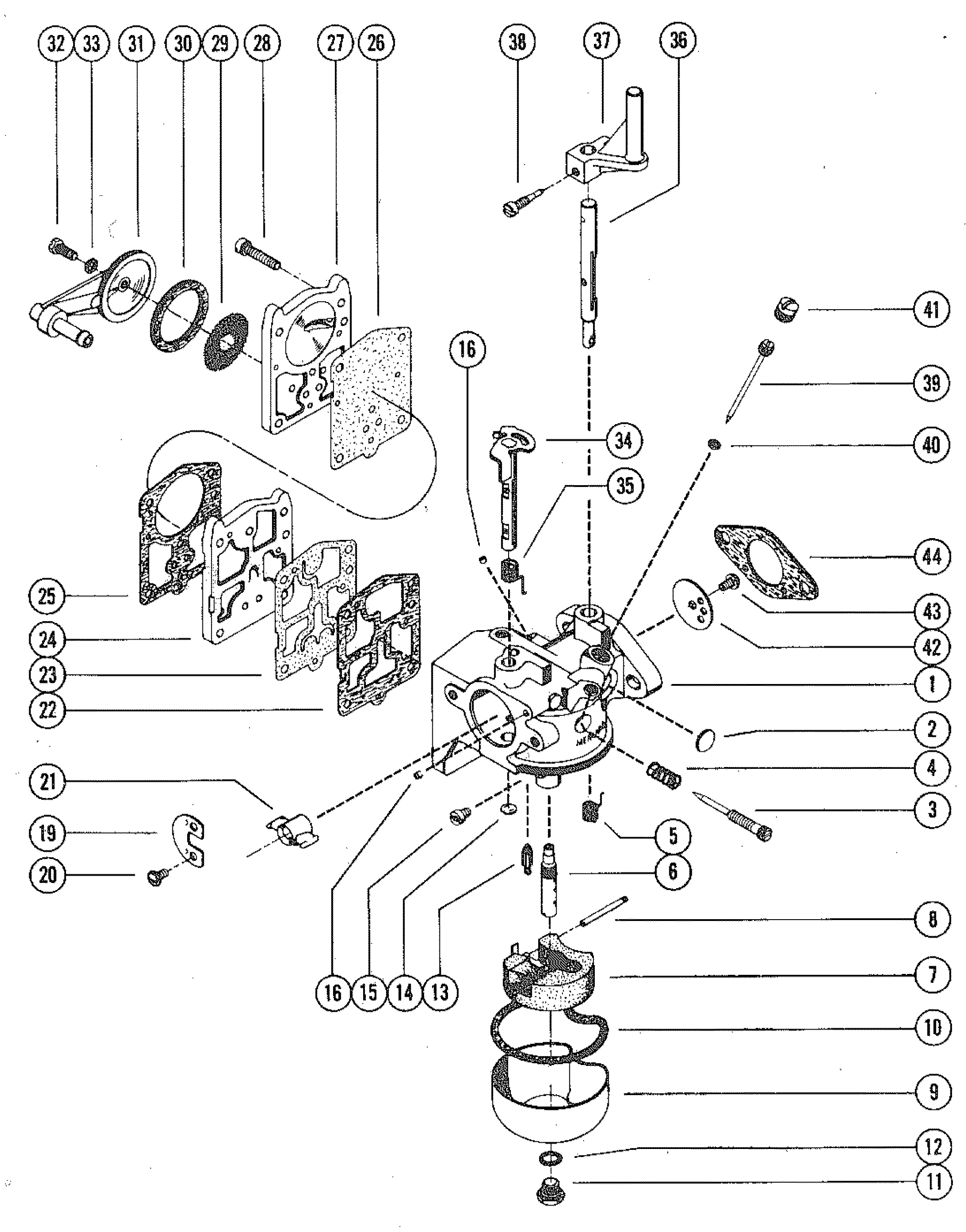 mercury 110 9 8 hp outboard wiring diagram carburetor assembly, complete for mercury merc 110