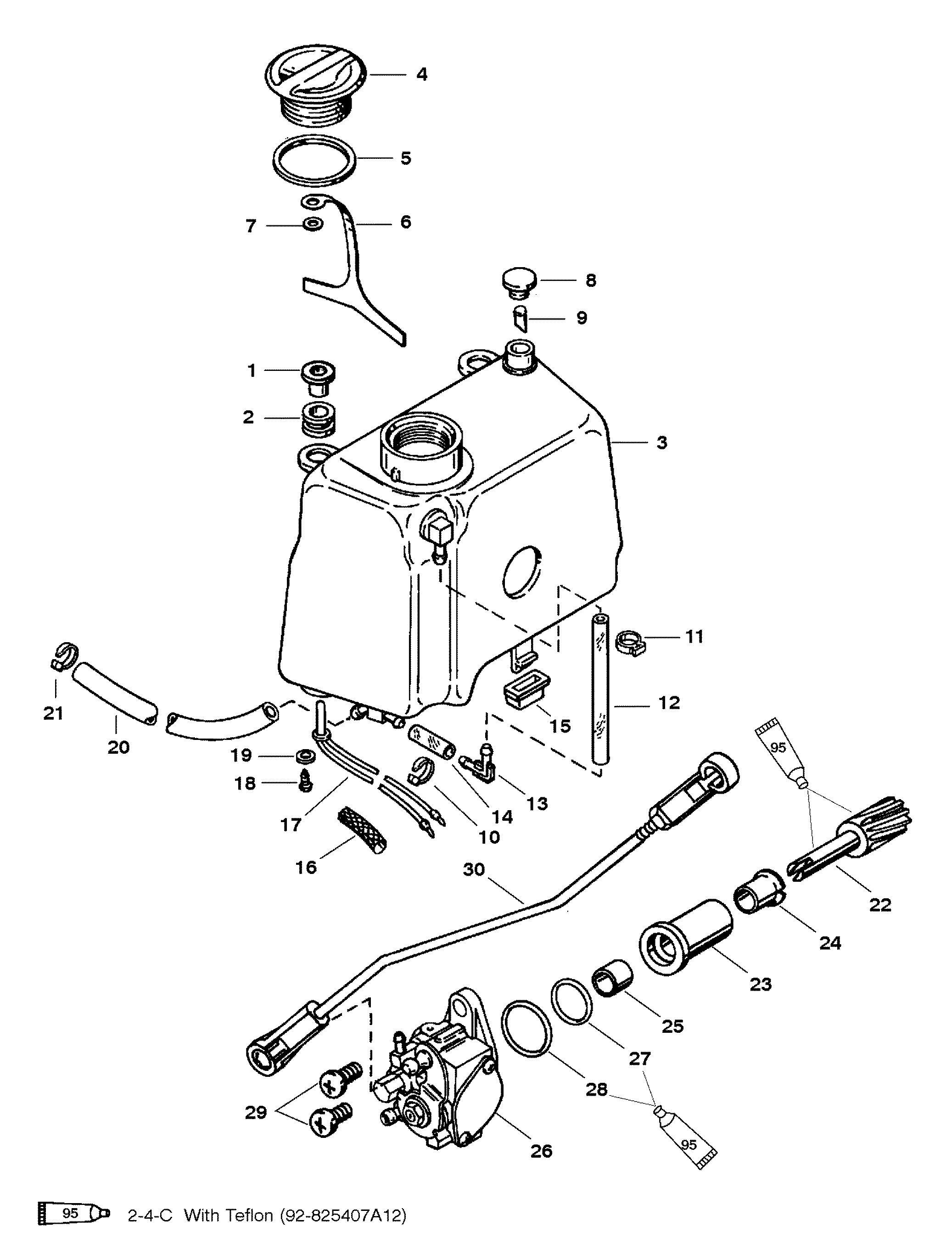 mariner magnum 40 hp wiring diagram
