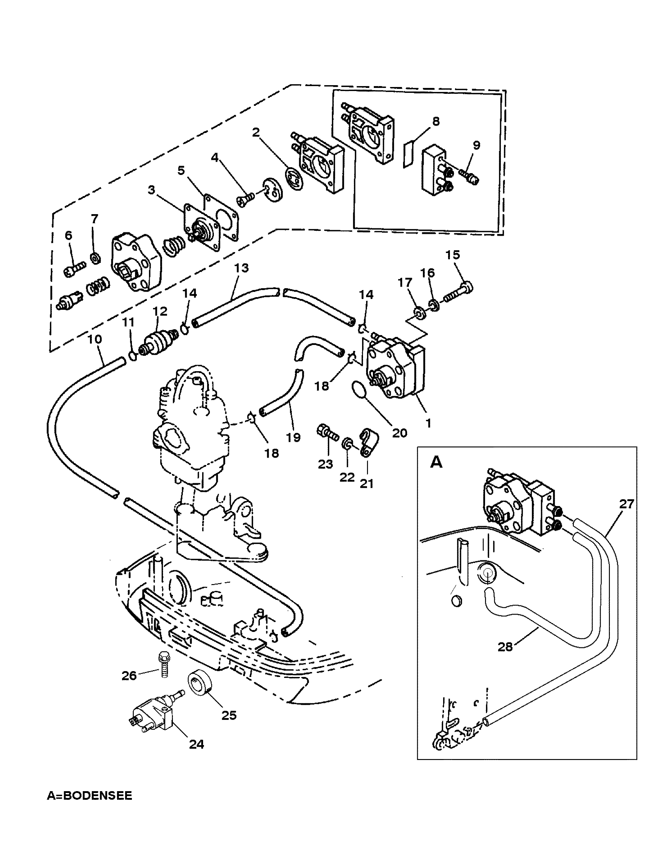 7 fuel pump for mariner mercury 9 9 8 bondensee 4 stroke mercury 9.9 4 stroke wiring diagram at panicattacktreatment.co