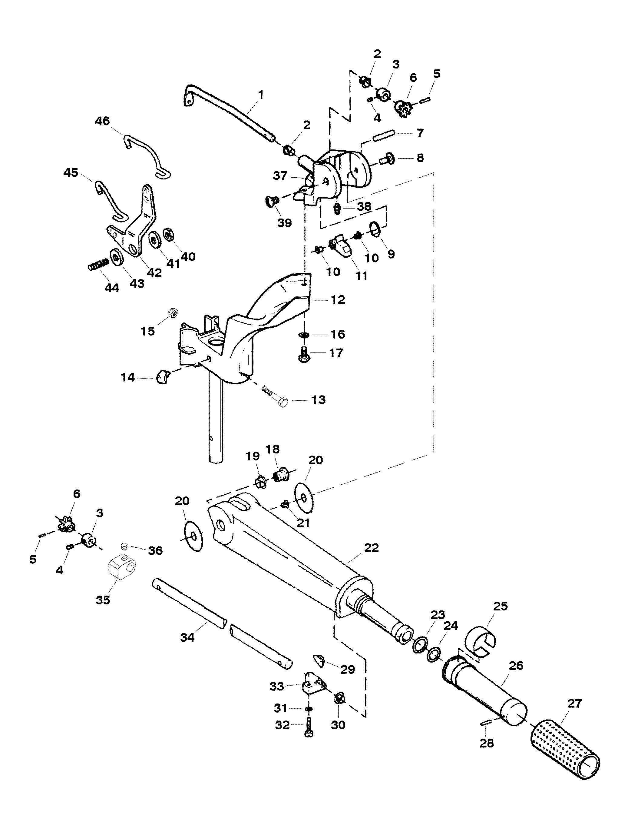 Mercury Throttle Shift Cable Diagram Com