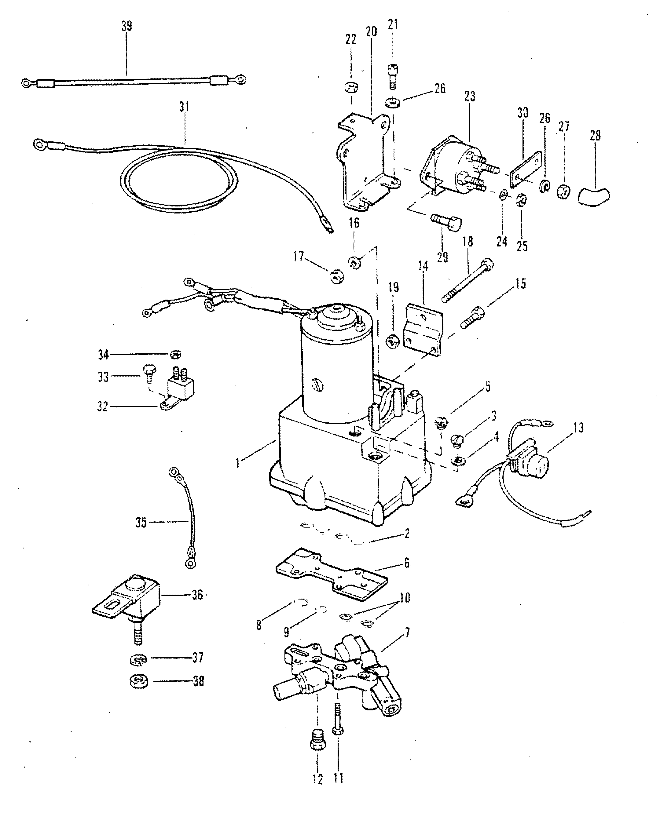 power trim components with circuit breaker and fuse for