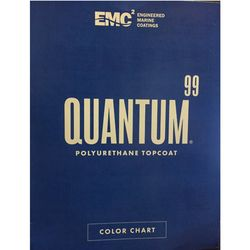 Quantum 99 Topside Paint Color Card