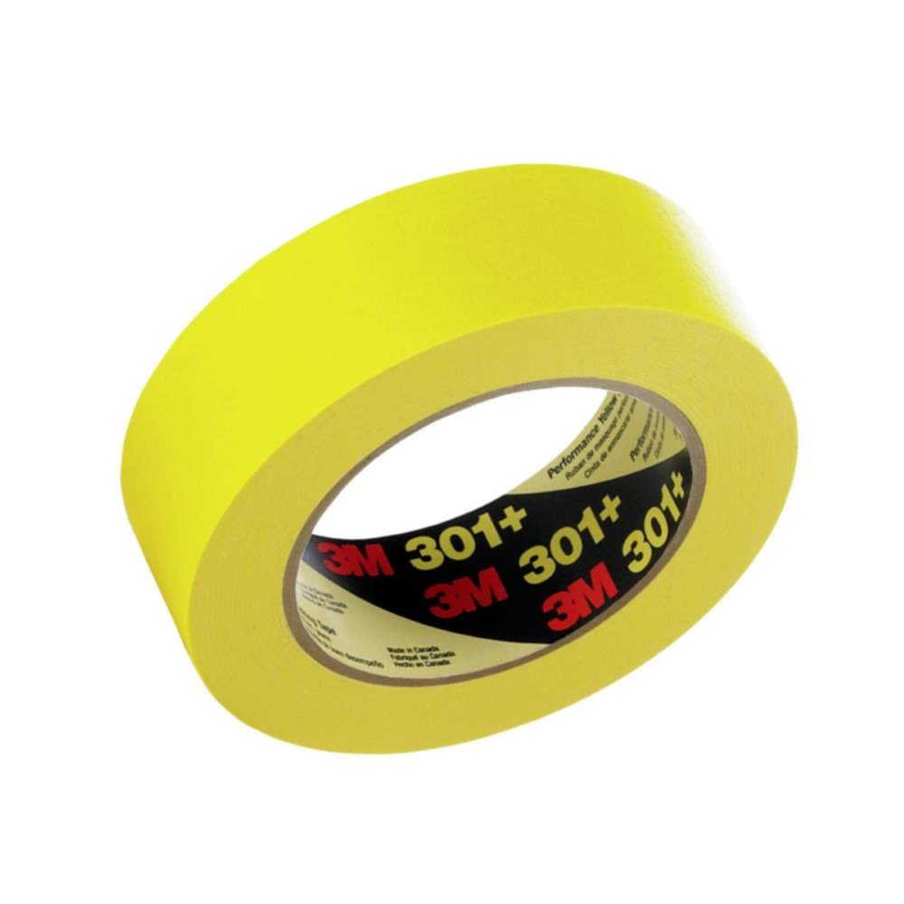 3M 301+ Performance Yellow Masking Tape