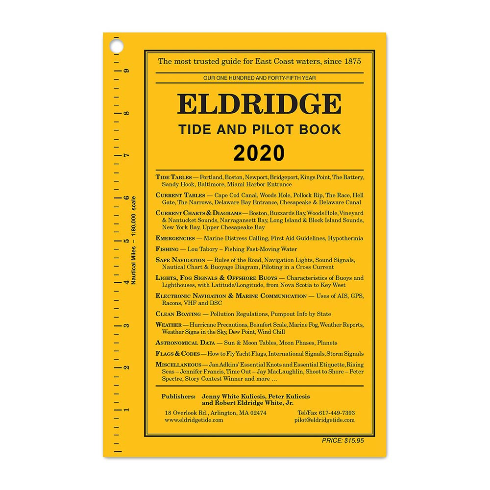 2020 Eldridge Tide and Pilot Book
