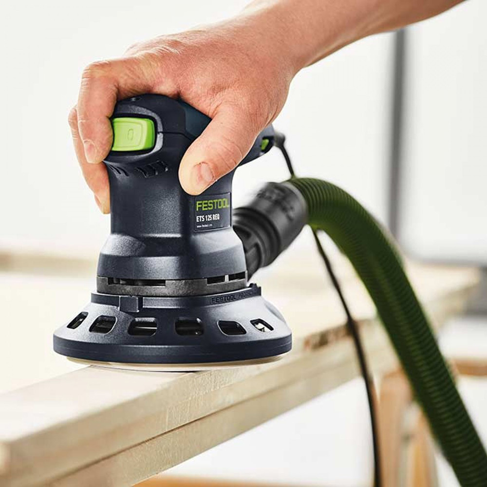 Festool  ETS 125 REQ with Anti-Static Hose and Protector