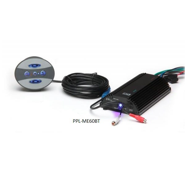 Poly-Planar Bluetooth Amplifier with Waterproof Control Pad