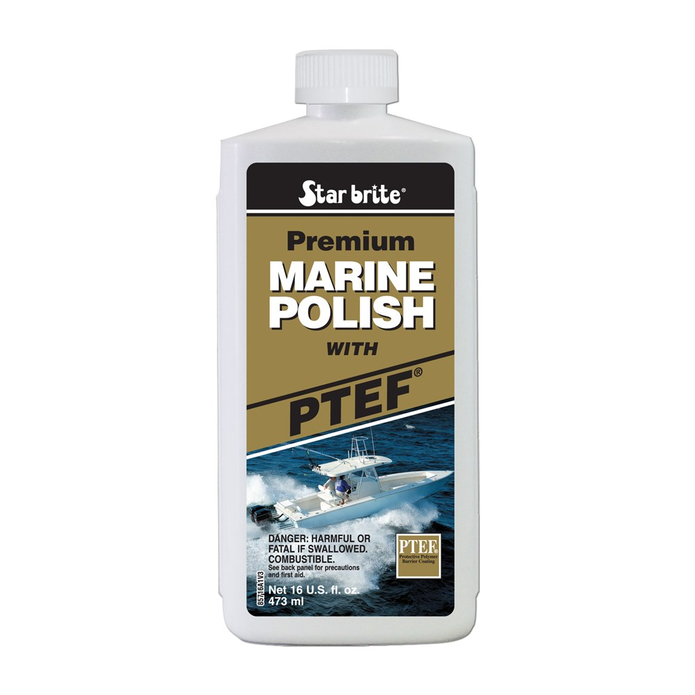 Star Brite Marine Polish with PTEF Liquid 16 oz.