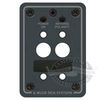 Blue Sea Systems A-Series Mounting Panel - Double Pole