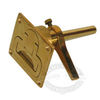 Sea-Dog Brass Hatch Handle Latch