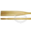 Canadian Spruce Varnished Wood Oars